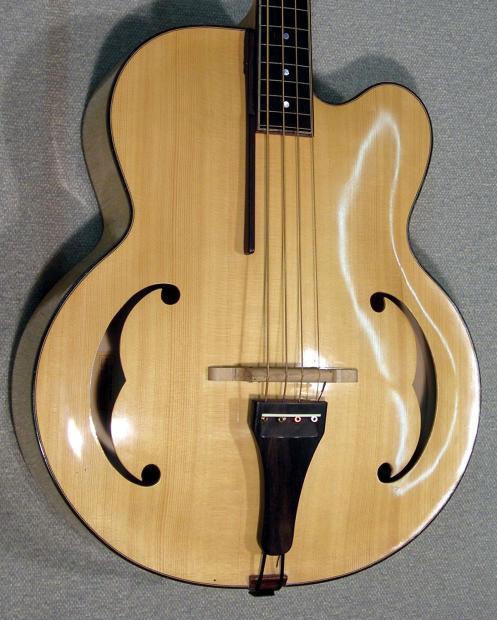 kls 4 string fretless acoustic bass guitar reverb. Black Bedroom Furniture Sets. Home Design Ideas