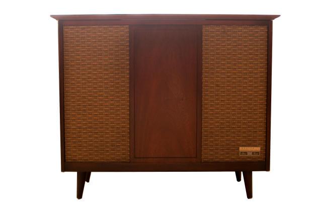 Zenith Retro Mid Century Repurposed Console Stereo