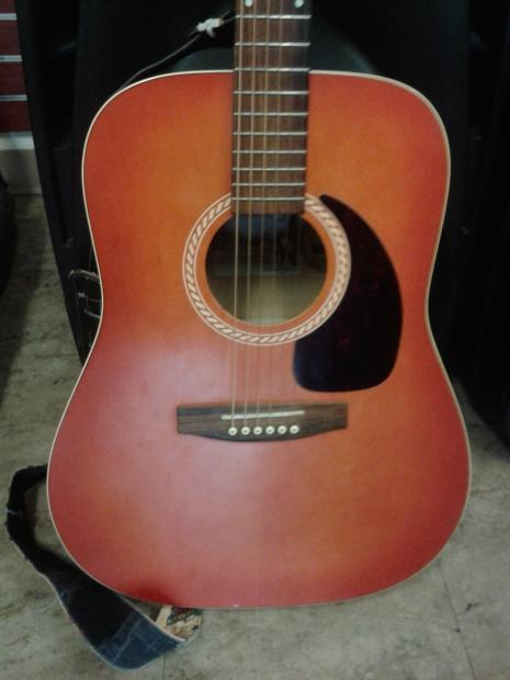 art lutherie wild cherry acoustic guitar reverb. Black Bedroom Furniture Sets. Home Design Ideas