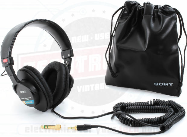 sony mdr 7506 professional large diaphragm headphones reverb. Black Bedroom Furniture Sets. Home Design Ideas