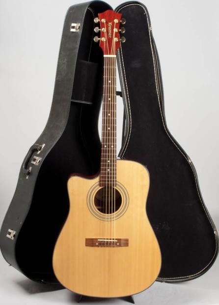 kramer acoustic electric guitar model d 200scel na very rare lefty clean ref 00441 image. Black Bedroom Furniture Sets. Home Design Ideas