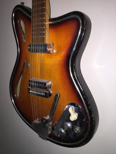 vintage hopf saturn 63 1964 original star club guitar reverb. Black Bedroom Furniture Sets. Home Design Ideas