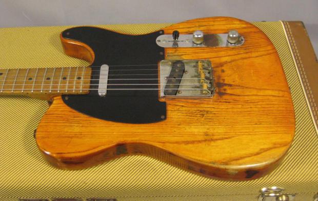 1952 fender telecaster tele electric guitar reverb. Black Bedroom Furniture Sets. Home Design Ideas
