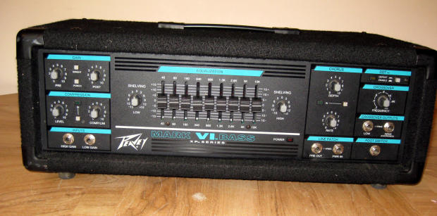 peavey mark vi mark 6 bass amp head made in usa 400w reverb. Black Bedroom Furniture Sets. Home Design Ideas