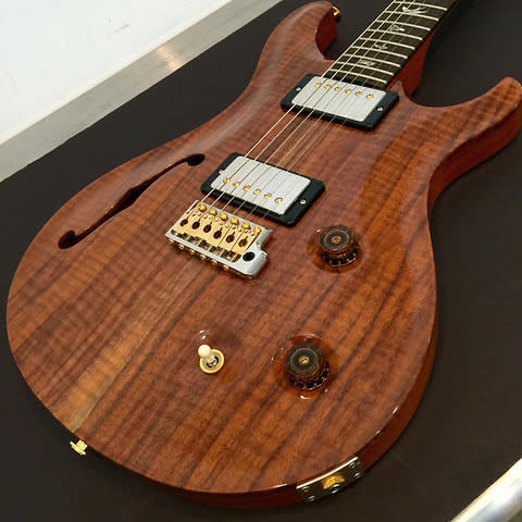 pre owned prs walnut semi hollow limited 1 of 25 natural 112 reverb. Black Bedroom Furniture Sets. Home Design Ideas
