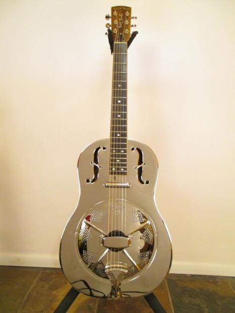 Gold Tone Resonator Guitar Gold Tone Gre Resonator Nickel