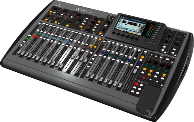behringer x32 40 channel 25 bus digital mixer with