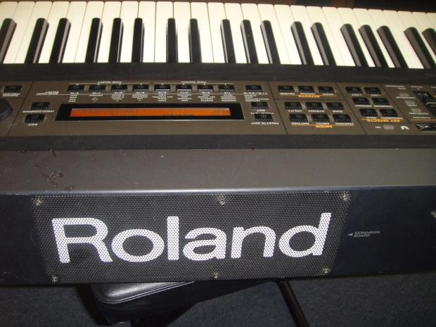 roland xv88 synthesizer keyboard 88 note weighted keys reverb. Black Bedroom Furniture Sets. Home Design Ideas