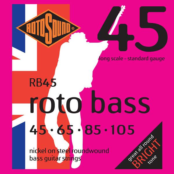 rotosound rb45 nickel electric bass strings long scale standard gauge reverb. Black Bedroom Furniture Sets. Home Design Ideas
