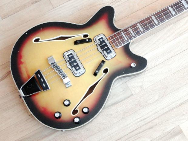1967 fender coronado ii vintage electric bass guitar. Black Bedroom Furniture Sets. Home Design Ideas