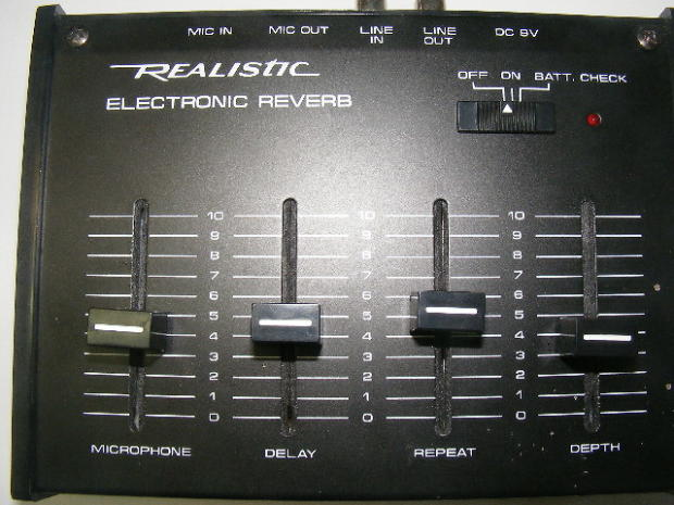 Gibson Auto Sales >> Realistic Electronic Reverb | Reverb