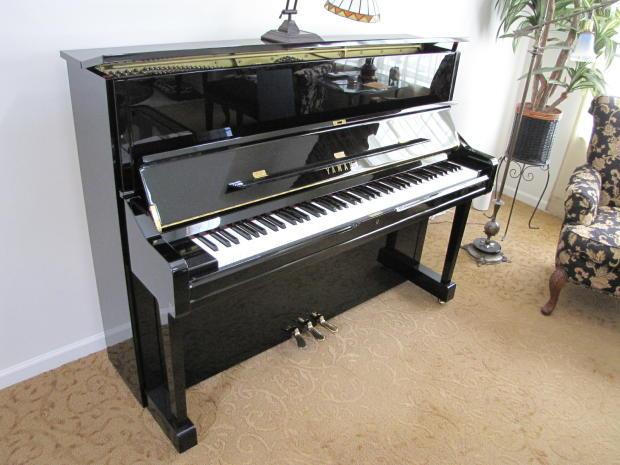Yamaha u1 48 upright reduced price reverb for Yamaha m1 piano