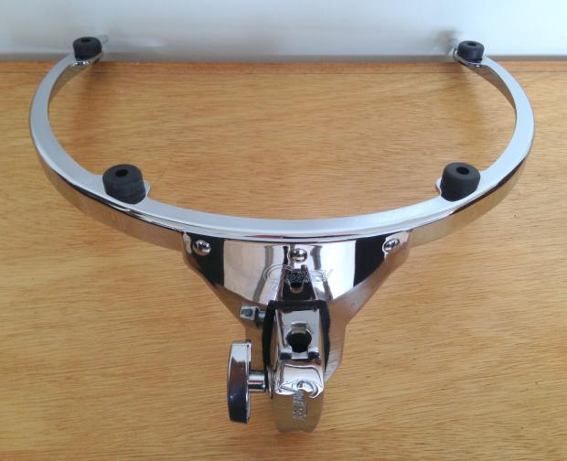 gretsch rims style 12 5 lug suspension tom mount w 9020 bracket reverb. Black Bedroom Furniture Sets. Home Design Ideas