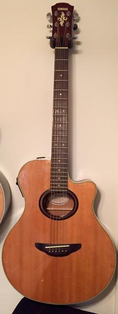 Yamaha apx 5a guitar reverb for Apx guitar yamaha