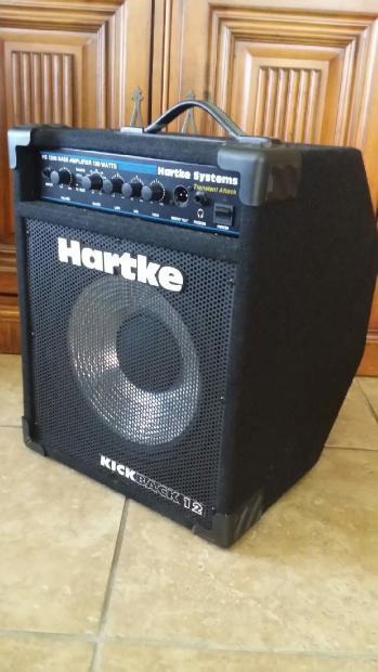 hartke kickback 12 120 watt bass combo amp reverb. Black Bedroom Furniture Sets. Home Design Ideas