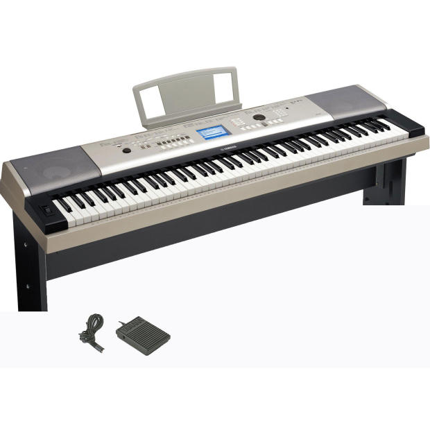 Yamaha ypg 535 88 key portable grand piano w vrt for Yamaha ypg 235 76 key portable grand piano review