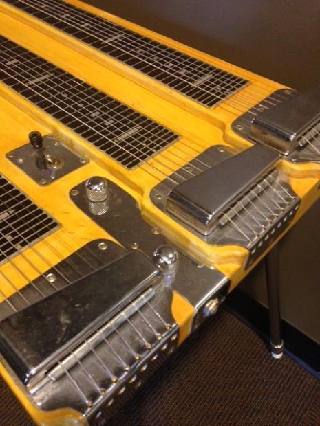 1950s fender custom deluxe triple neck 8 string steel guitar with case reverb. Black Bedroom Furniture Sets. Home Design Ideas