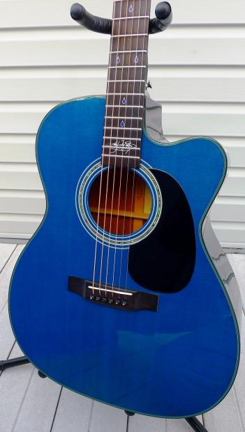 Signature Auto Sales >> Martin Kenny Wayne Shepherd Signature Acoustic/Electric Guitar, JC-16KWS, Prototype #2 of 3 | Reverb