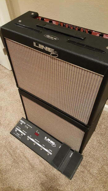 line 6 flextone ii plus combo with line 6 floorboard reverb. Black Bedroom Furniture Sets. Home Design Ideas