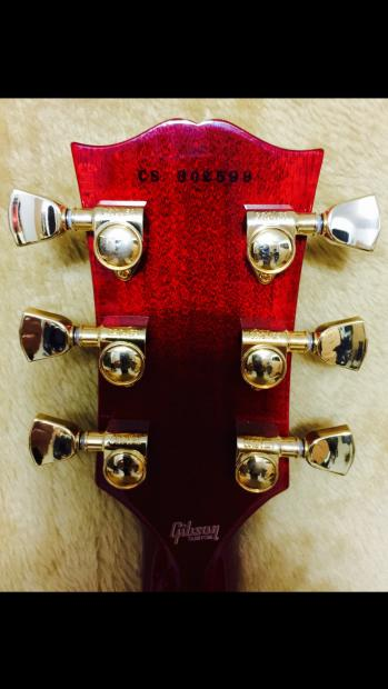 2013 Gibson Les Paul Benchmark Custom Red Widow LE Reverb