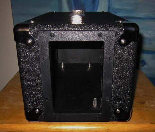 custom orange bass terror head shell case black tolex reverb. Black Bedroom Furniture Sets. Home Design Ideas