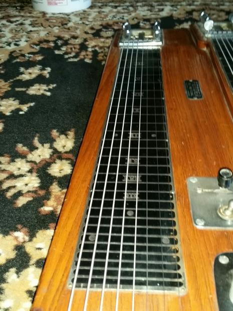 fender dual professional 8 string triple neck steel guitar reverb. Black Bedroom Furniture Sets. Home Design Ideas