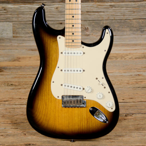fender american standard stratocaster 50th anniversary sunburst used s363 image. Black Bedroom Furniture Sets. Home Design Ideas