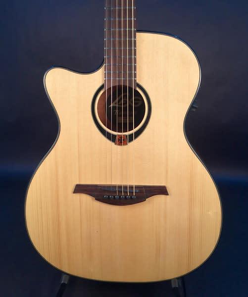 lag tramontane tl80ace acoustic guitar lefty reverb. Black Bedroom Furniture Sets. Home Design Ideas