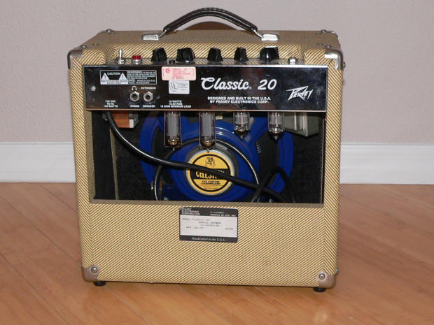 peavey classic 20 tweed 15 watt tube guitar combo amp rare upgraded excellent condition reverb. Black Bedroom Furniture Sets. Home Design Ideas