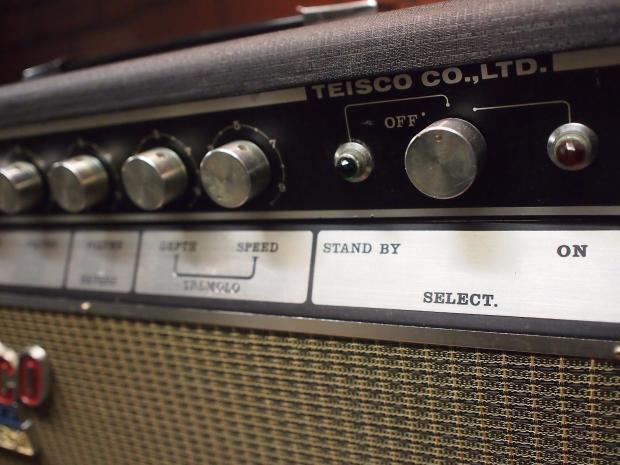 1966 Teisco Del Rey Checkmate 20 Amplifier