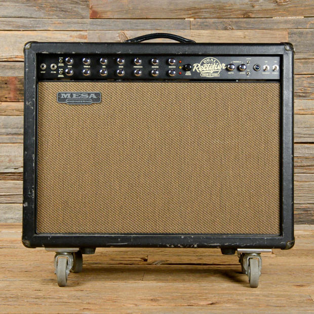 mesa boogie dual rectifier trem o verb 100w 2x12 combo used s960 reverb. Black Bedroom Furniture Sets. Home Design Ideas