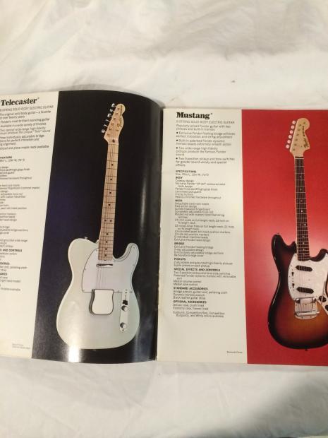 1972 Fender Amp Amp Guitar Catalog Reverb