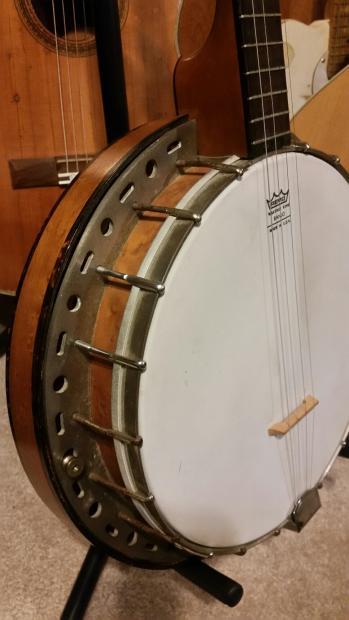 Kay tenor banjo vintage mots