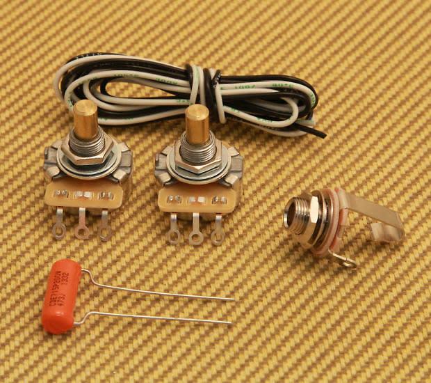 usa standard wiring kit for fender p precision bass cts. Black Bedroom Furniture Sets. Home Design Ideas