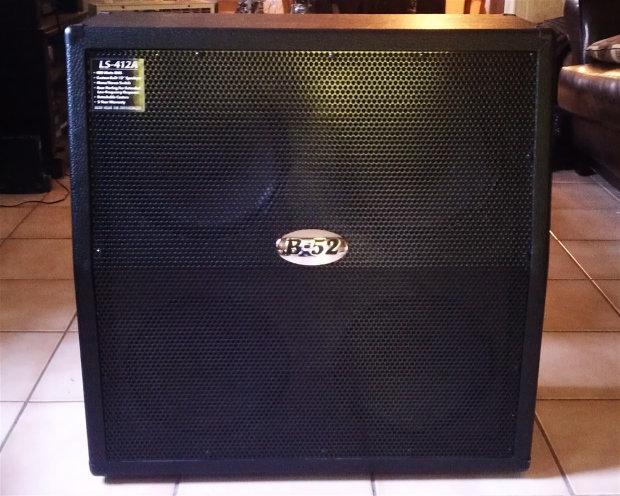 b 52 400 watt rms speaker slant cabinet model ls 412a reverb. Black Bedroom Furniture Sets. Home Design Ideas