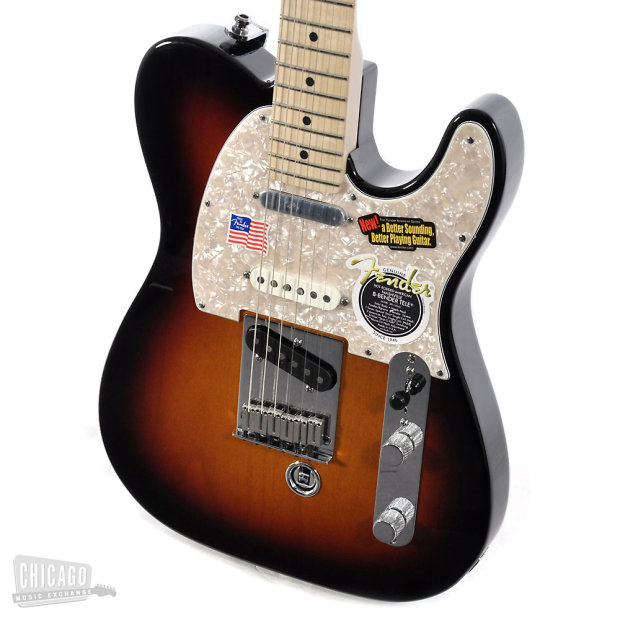 fender american nashville b bender telecaster three tone sunburst reverb. Black Bedroom Furniture Sets. Home Design Ideas
