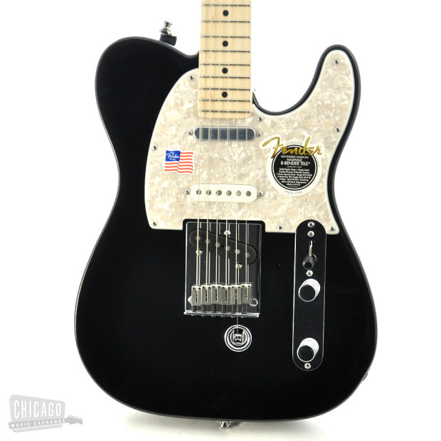 fender american nashville b bender telecaster black reverb. Black Bedroom Furniture Sets. Home Design Ideas