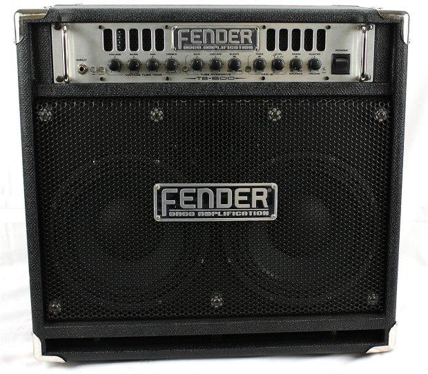 fender tb 600 electric bass guitar combo amplifier amp black chrome reverb. Black Bedroom Furniture Sets. Home Design Ideas