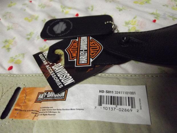 New Harley Davidson 100 Genuine Leather Dunlop 2 5
