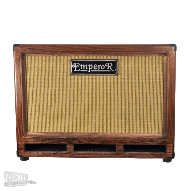 Emperor Bass Cabinet 2x10 Cb Red Mahogany With Wheat