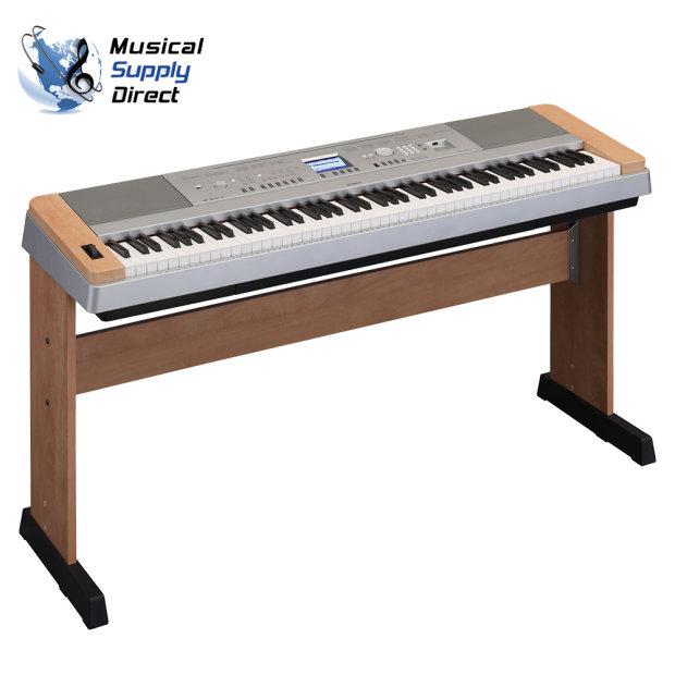 Yamaha dgx 640c keyboard refurbished by yamaha w warranty for Yamaha p105 sustain pedal