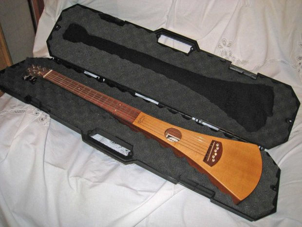 Martin Backpacker Natural With Passive Pickup Installed