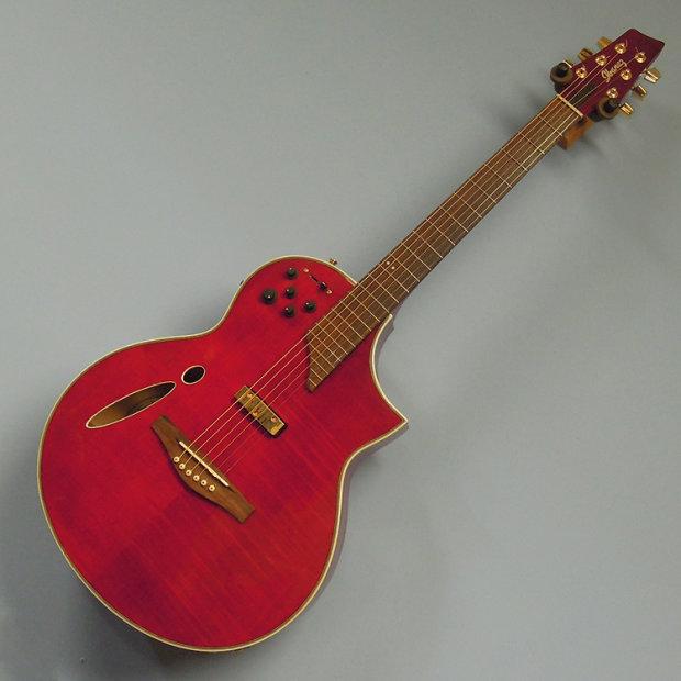 ibanez 2008 msc550 montage hybrid cutaway acoustic electric guitar trans red finish reverb. Black Bedroom Furniture Sets. Home Design Ideas