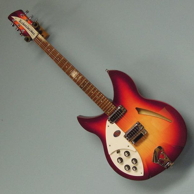 rickenbacker 330 left handed electric guitar fireglo finish reverb. Black Bedroom Furniture Sets. Home Design Ideas