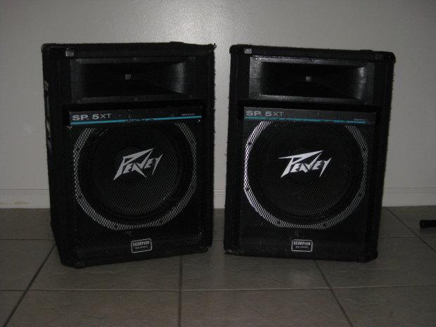 peavey sp 5xt speaker pair reverb. Black Bedroom Furniture Sets. Home Design Ideas