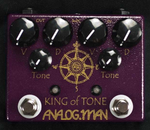 analog man king of tone overdrive pedal reverb. Black Bedroom Furniture Sets. Home Design Ideas