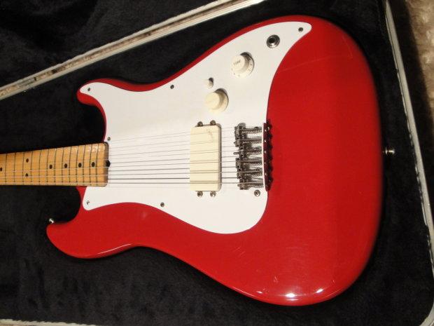 Fender Bullet H1 Standard 1982 Dakota Red Reverb