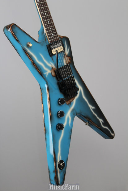dean usa dime series rust from hell left handed handpainted electric guitar with case reverb. Black Bedroom Furniture Sets. Home Design Ideas