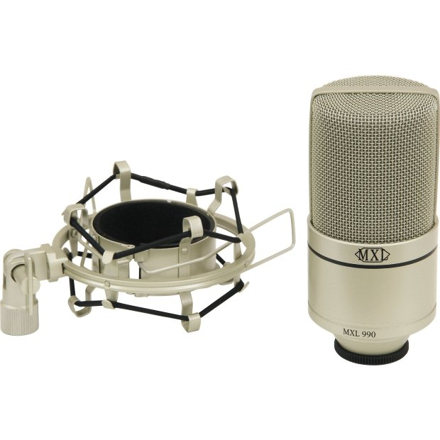 mxl 990 condensor microphone with shockmount in carry case new reverb. Black Bedroom Furniture Sets. Home Design Ideas