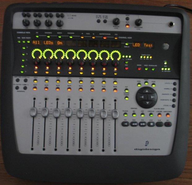 avid digidesign digi 002 digi002 console recording